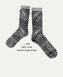stoere poster risoprint zwart wit illustratie