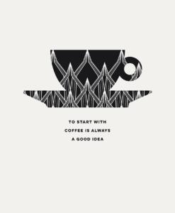 Limited poster Espresso illustration