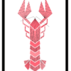 Pillah poster Lobster A2 formaat
